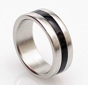 PK Ring Black-silver