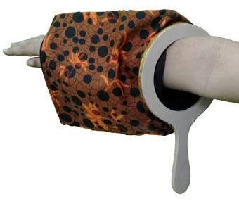 change bag zipper repeat cloth