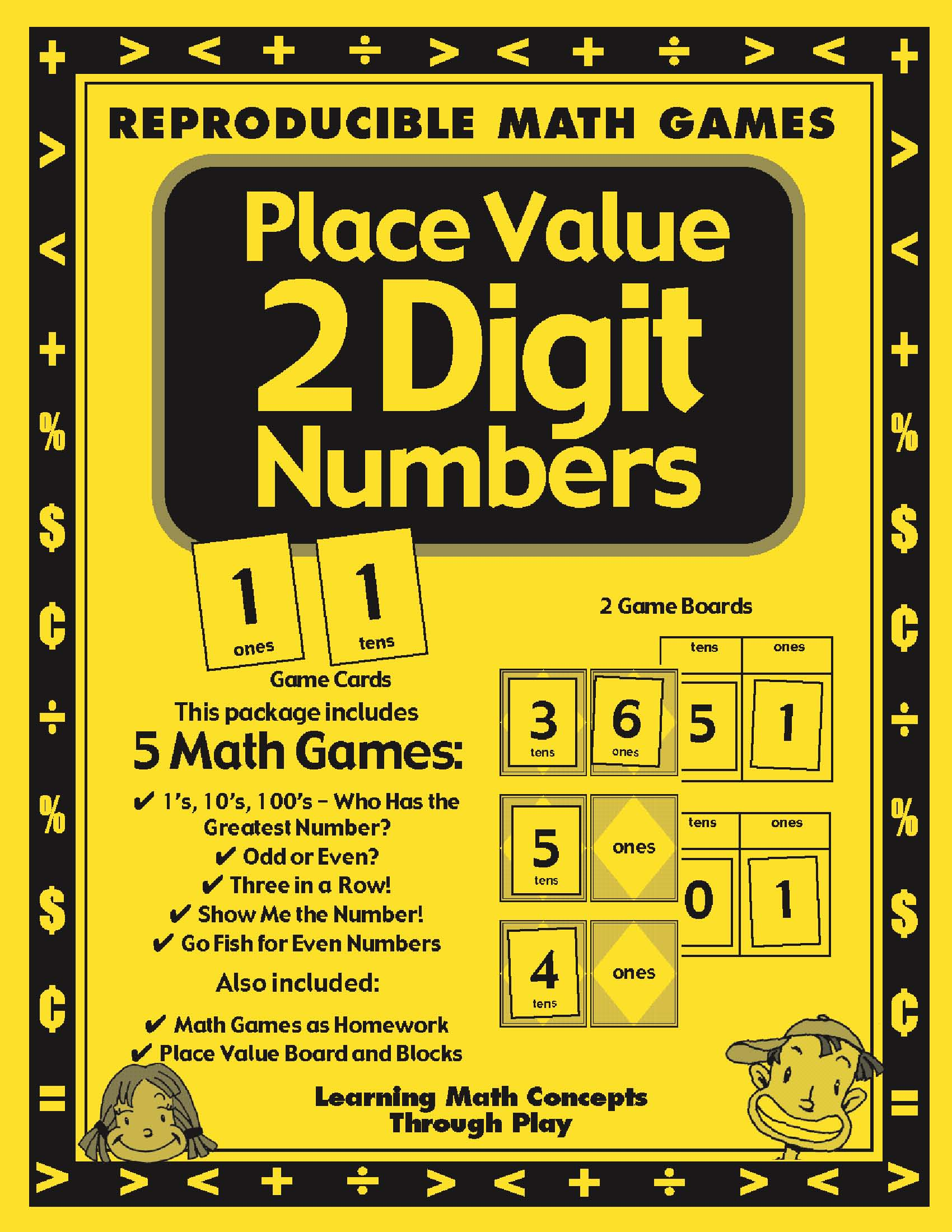 Place Value With 2 Digit Numbers Activities And Lesson