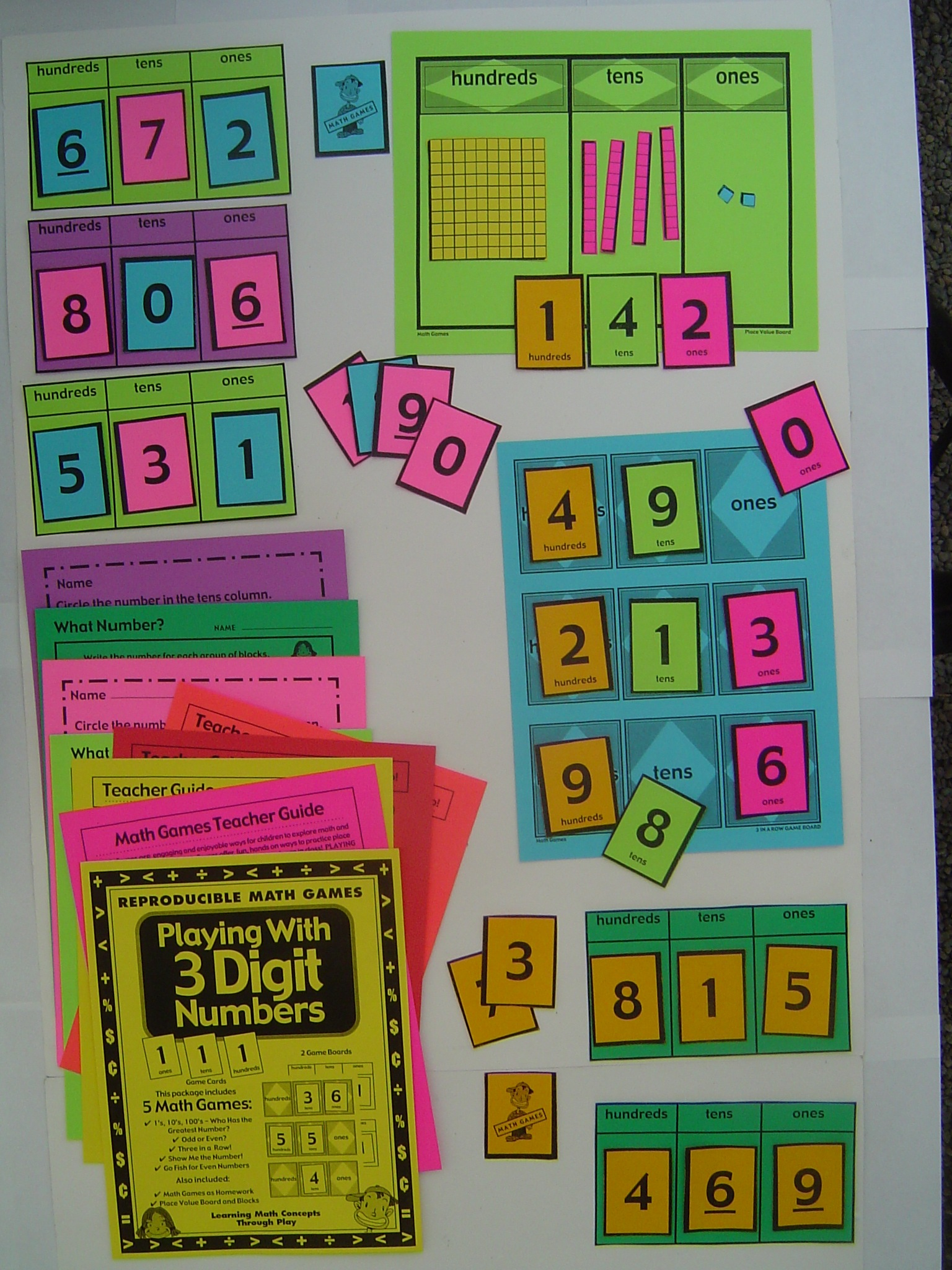 Place Value With 3 Digit Numbers Activities And Lesson