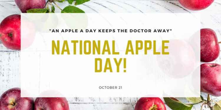 National Apple Day 2020
