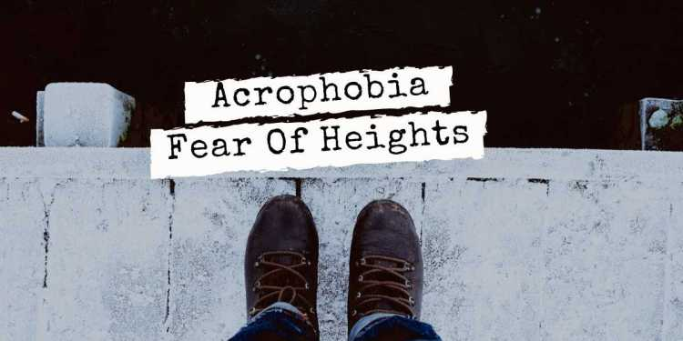 This Is How You Can Avoid The Fear Of Height Acrophobia