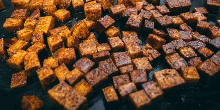 Baked or fried Tofu recipe