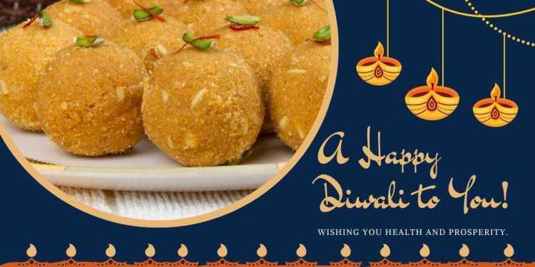 Besan Laddoo for Diwali celebration