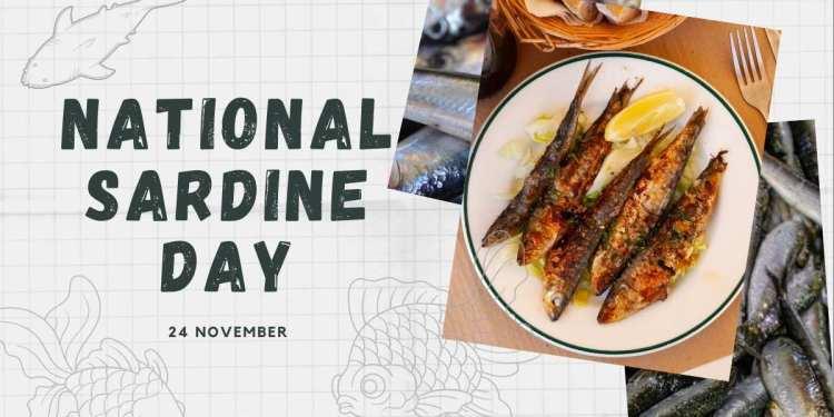 Celebrate National Sardines Day On 24th November