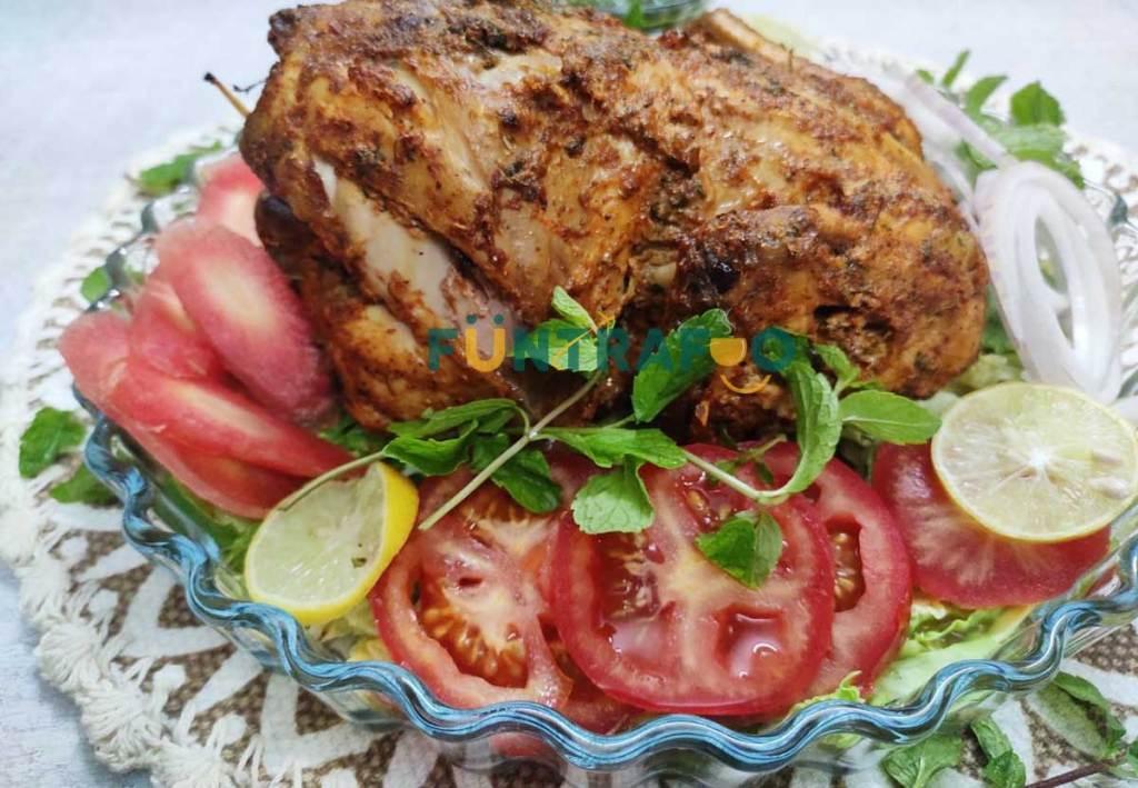 Full Chicken Tandoori oven style by funtrafoo.com