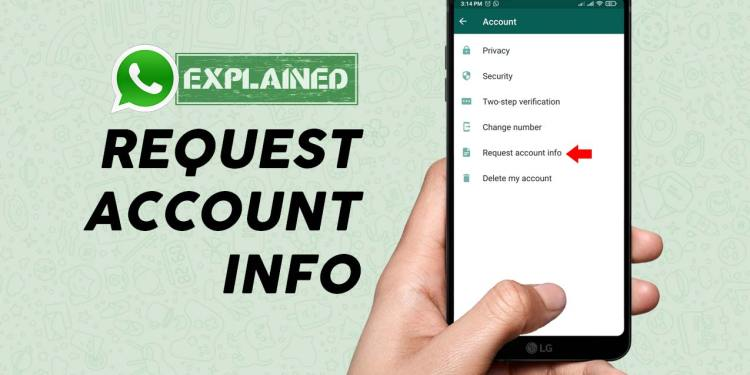 How To Use Request Account Info Feature In WhatsApp