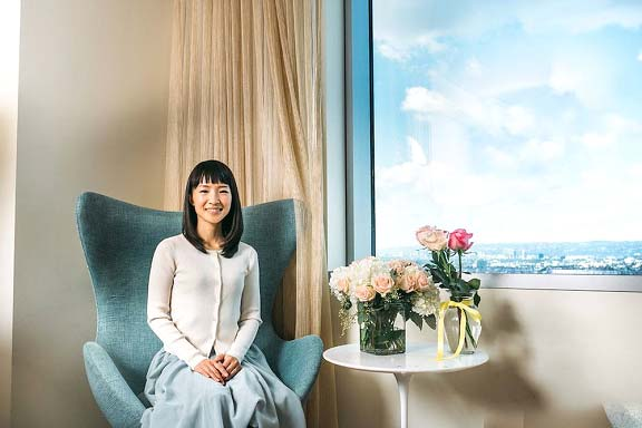 Marie Kondo from Japan