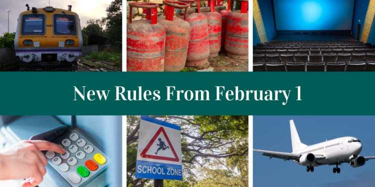 New Rules From February 1: From Mumbai Locals, Cinema Halls, ATM To Voter Card Here Are New Rules