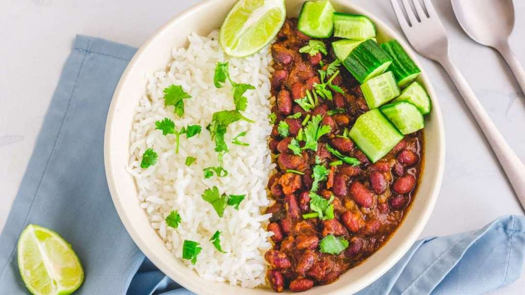 Rajma Chawal - Indian dishes