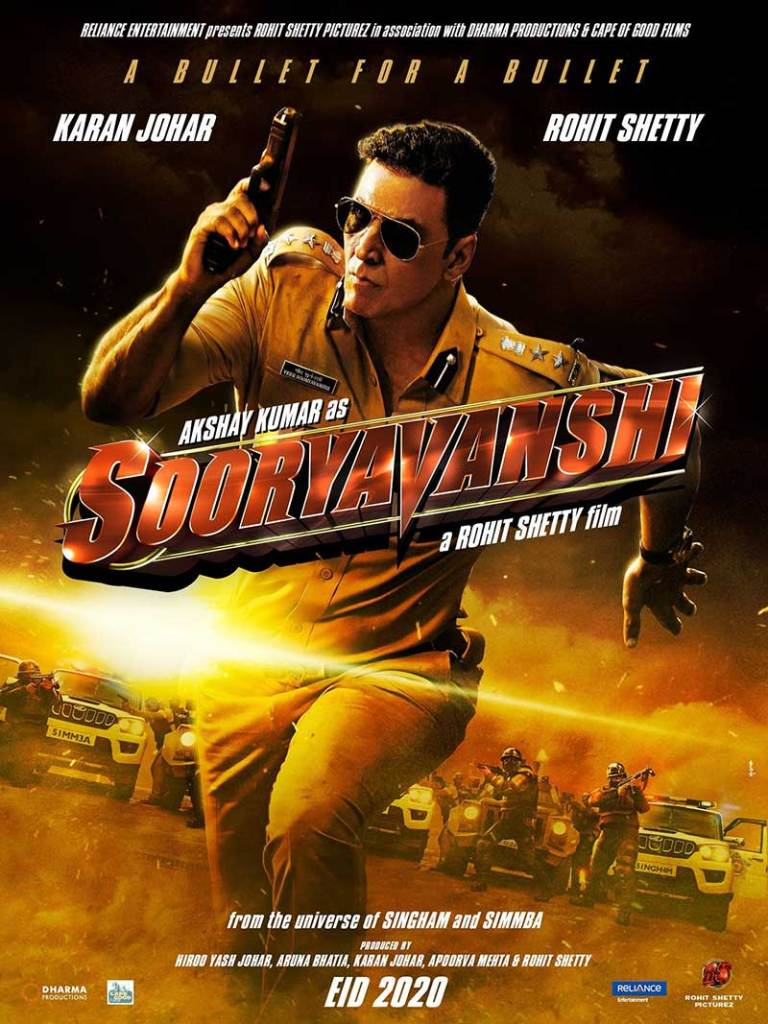 Sooryavanshi- Most Awaited Bollywood Films