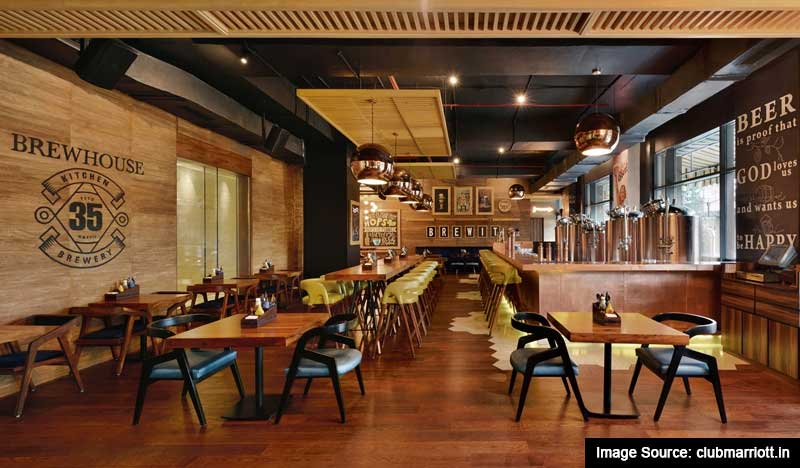 Best Romantic Restaurants In Chandigarh: 35 Brewhouse Bar in Chandigarh