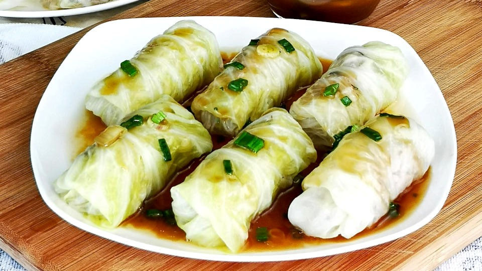 Instead Of Spring Rolls, you can make a Cabbage Rolls