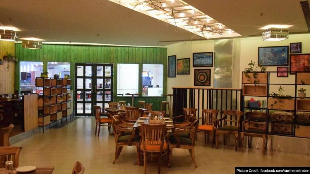 Top 6 Restaurant In Bhopal : Raw the Restrobar by Chef AJ