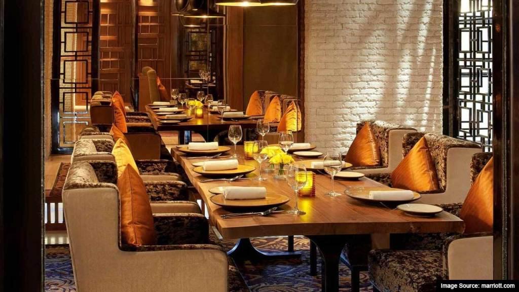Best Romantic Restaurants In Chandigarh : Saffron - JW Marriott, Sector 35, Chandigarh