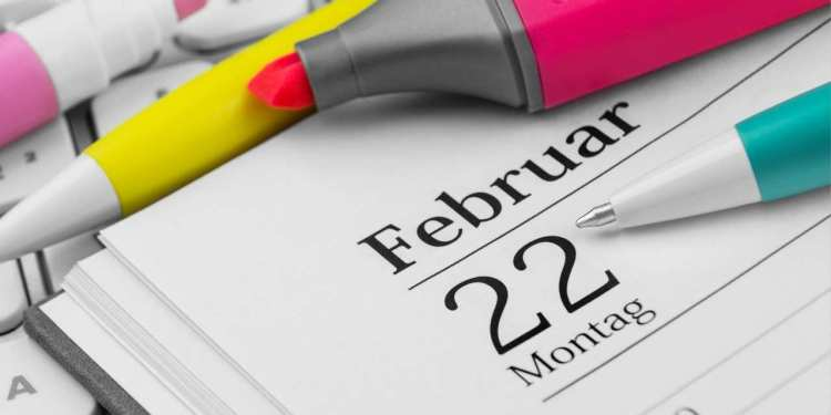 What Is Today February 22 Special Events