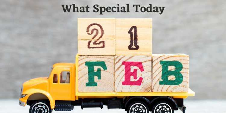 What Special Today February 21 Special Events