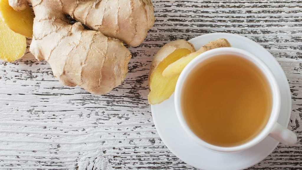Ginger for cleaning kidneys