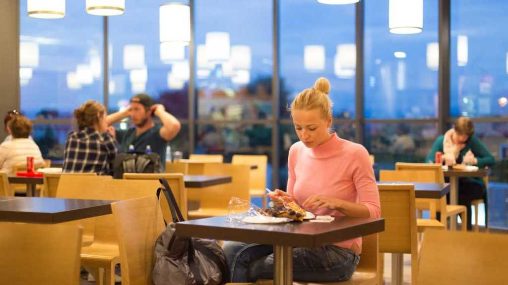 Airport @ Food: Pizza at airport