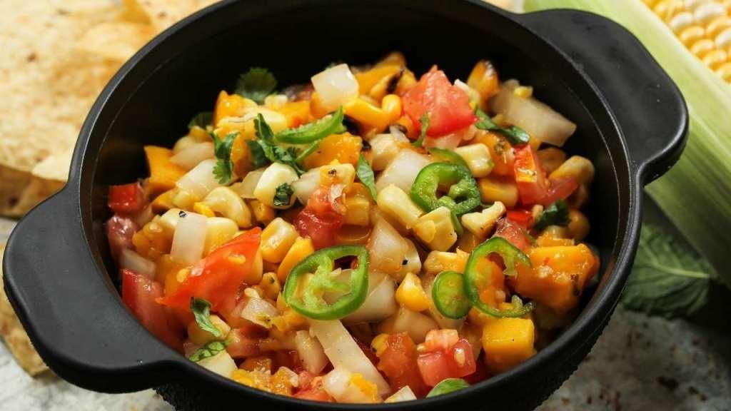Corn and Raw Mango Salad