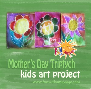 Mothers-Day-Kids-Art-Project-Triptych