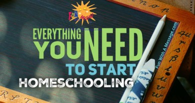 Everything you need to start homeschooling