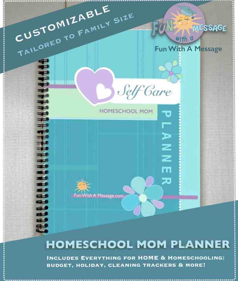 customizable homeschool planner