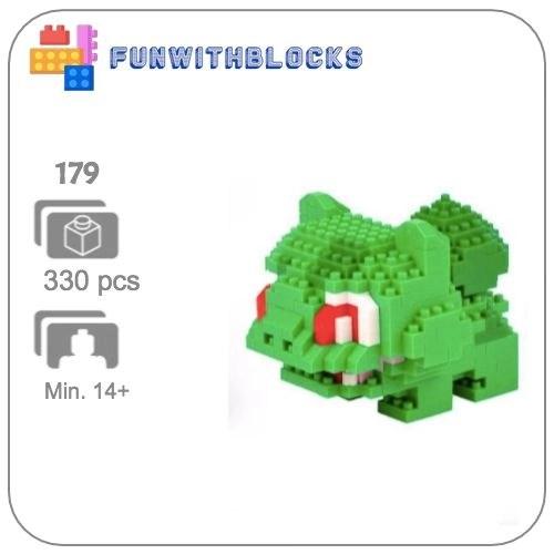 Miniblock Pokémon Bulbasaur