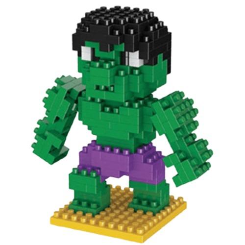 LNO Hulk miniblock - Marvel Avengers - 190 mini blocks