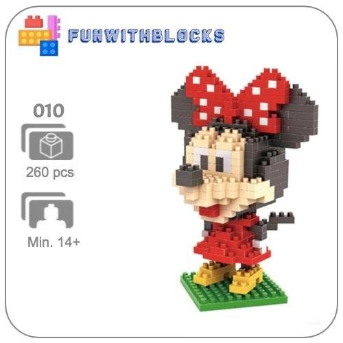 Miniblock Minnie Mouse
