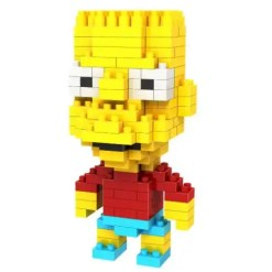 Miniblock Bart Simpson - 200 minibricks