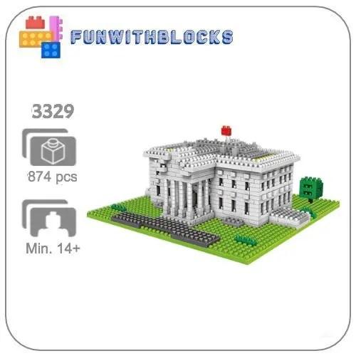 Miniblock Witte Huis USA