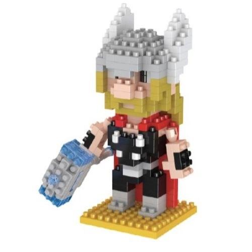 LNO Thor miniblock - Marvel Avengers - 280 mini blocks