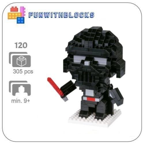 LNO Darth Vader - 305 minibricks