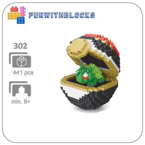 LNO Pokeball Bulbasaur - 441 minibricks
