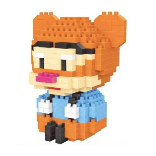 LNO Baby Tijgertje miniblock - Winnie de Poeh - 293 mini blocks