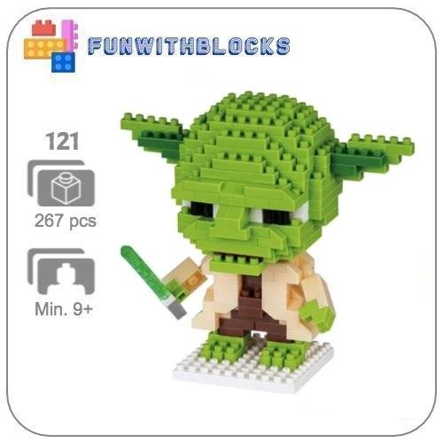 LNO Yoda- 267 minibricks