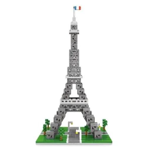 Wise Hawk Eiffeltoren miniblock - 1184 mini blocks