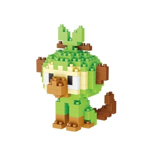 LNO Grookey miniblock - Pokémon - 202 mini blocks