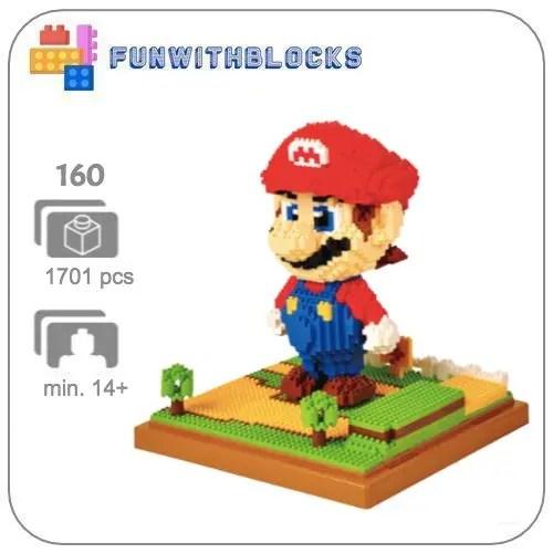 Wise Hawk Mario - 1701 minibricks