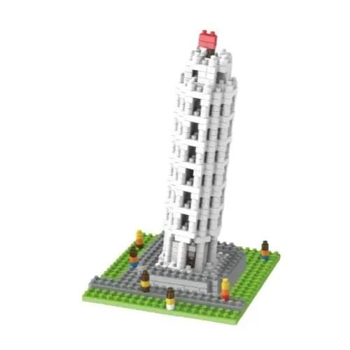 Wise Hawk Toren van Pisa miniblock - 511 mini blocks