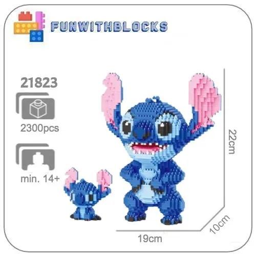Balody Stitch - 2300 miniblocks