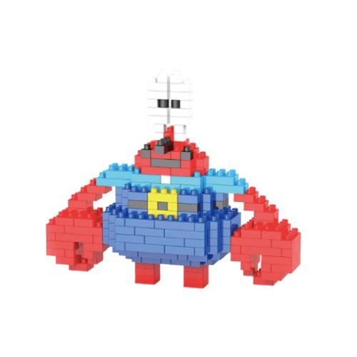 LNO Meneer Krabs miniblock - SpongeBob SquarePants - 209 mini blocks