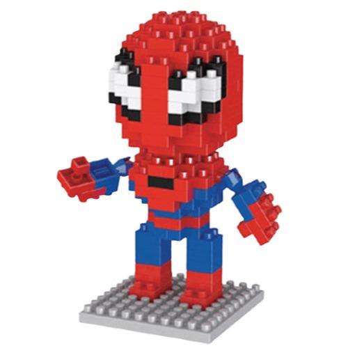 LNO Spiderman miniblock - Marvel Avengers - 160 mini blocks