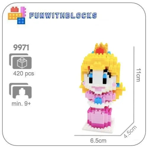 Princes Peach - 420 miniblocks