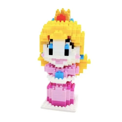Chakra Peach miniblock - Super Mario - 420 mini blocks