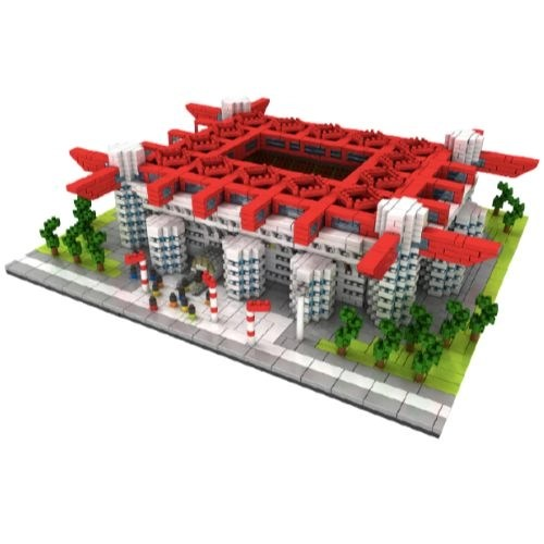 ZPX San Siro miniblock - AC Milan - 3800 mini blocks