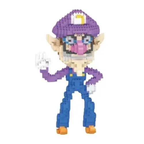 LBOYU Waluigi miniblock - Super Mario- 1000 mini blocks