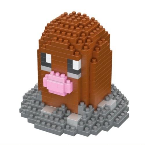 LNO Diglett miniblock - Pokémon - 306 mini blocks