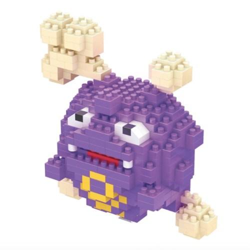 LNO Koffing miniblock - Pokémon - 339 mini blocks